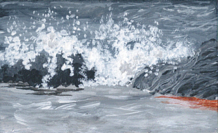 seascape painting by Pat Harrison